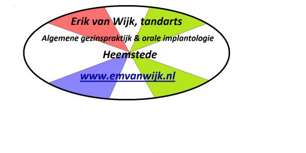 Praktijklogo tandarts van Wijk